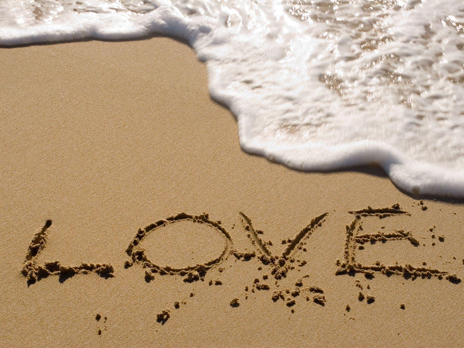 TOi et moi à la plage, love ♥